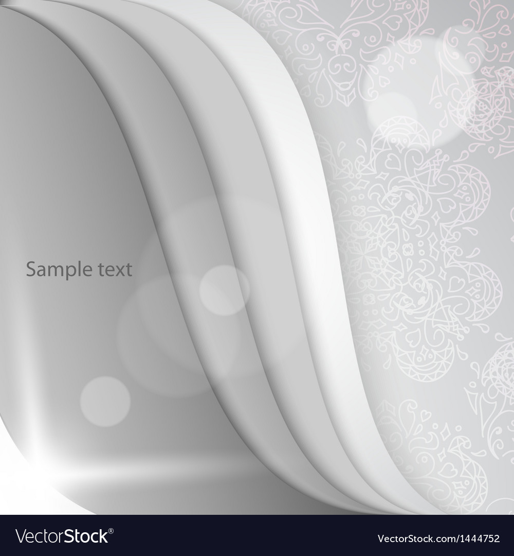 White papers with corner curl layer by layer vector | Price: 1 Credit (USD $1)