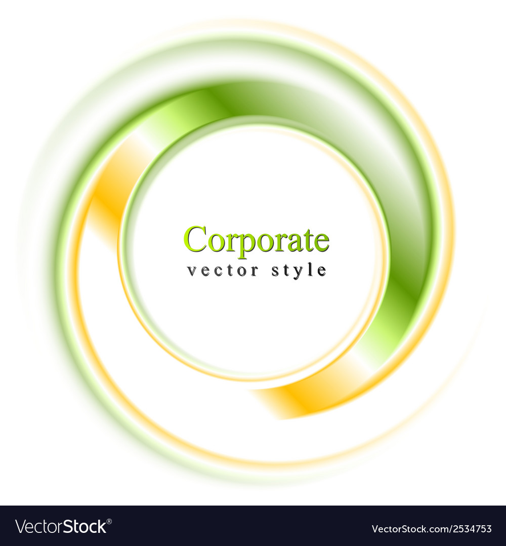 Abstract bright logo ring vector | Price: 1 Credit (USD $1)