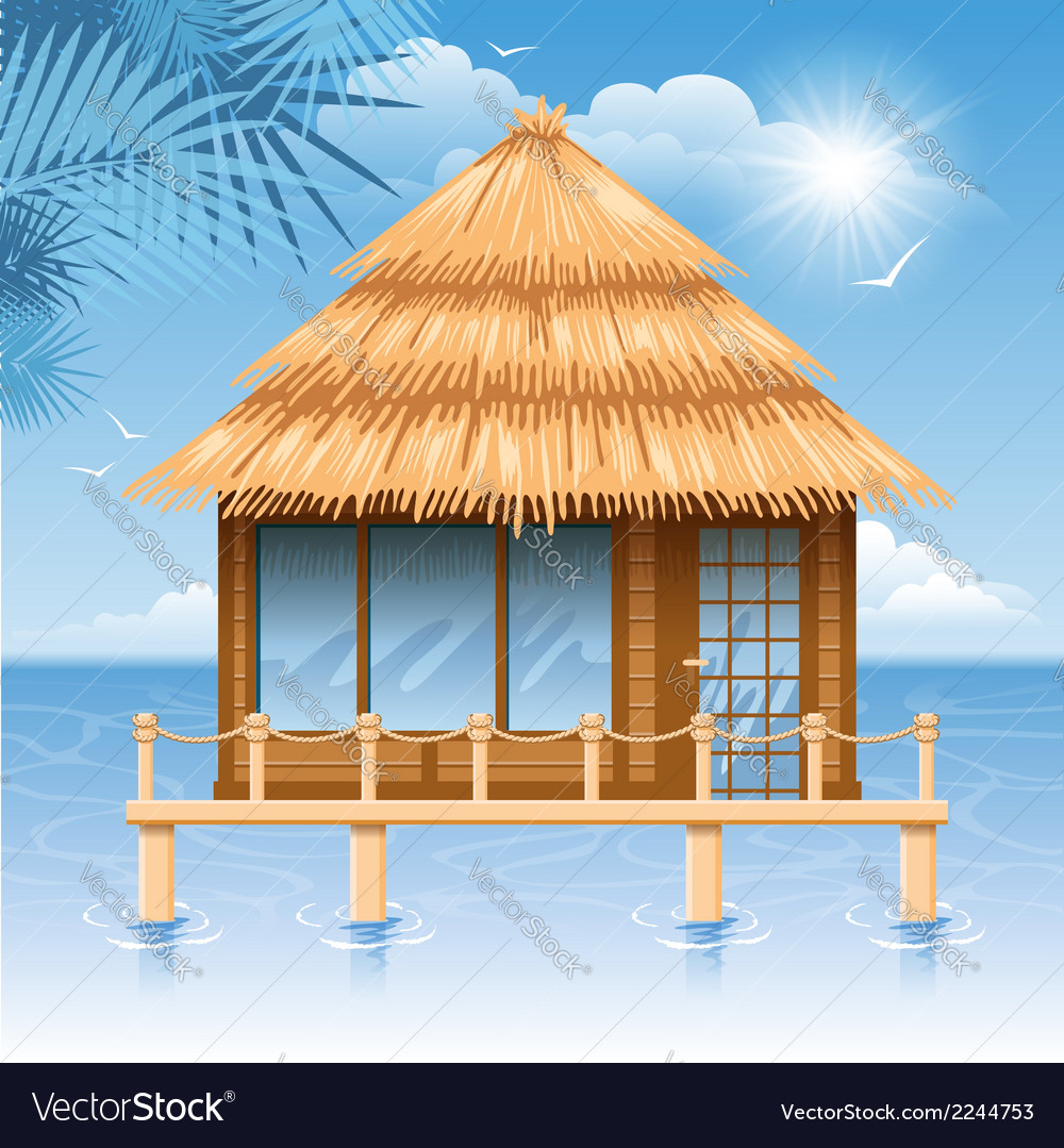 Bungalow vector | Price: 1 Credit (USD $1)