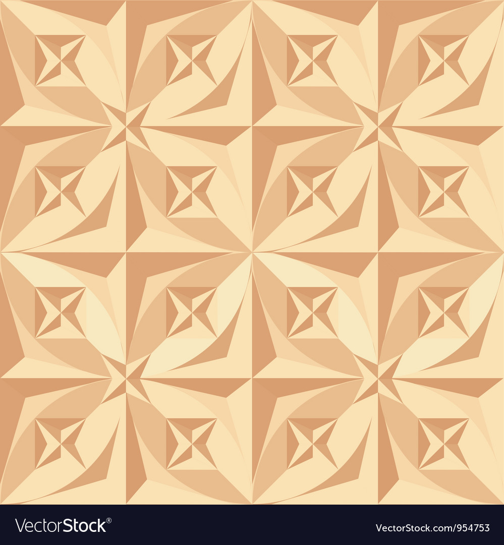 Wood carving  seamless vector | Price: 1 Credit (USD $1)