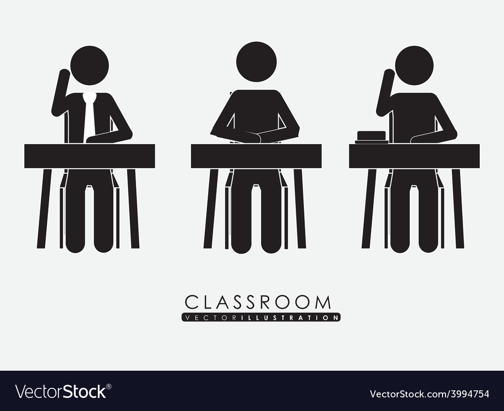 Class room desing vector | Price: 1 Credit (USD $1)