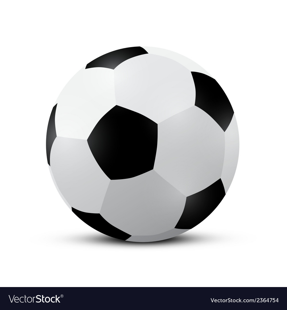 Football - soccer ball vector | Price: 1 Credit (USD $1)