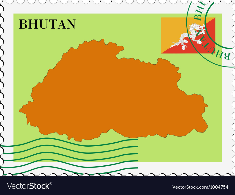 Mail to-from bhutan vector | Price: 1 Credit (USD $1)