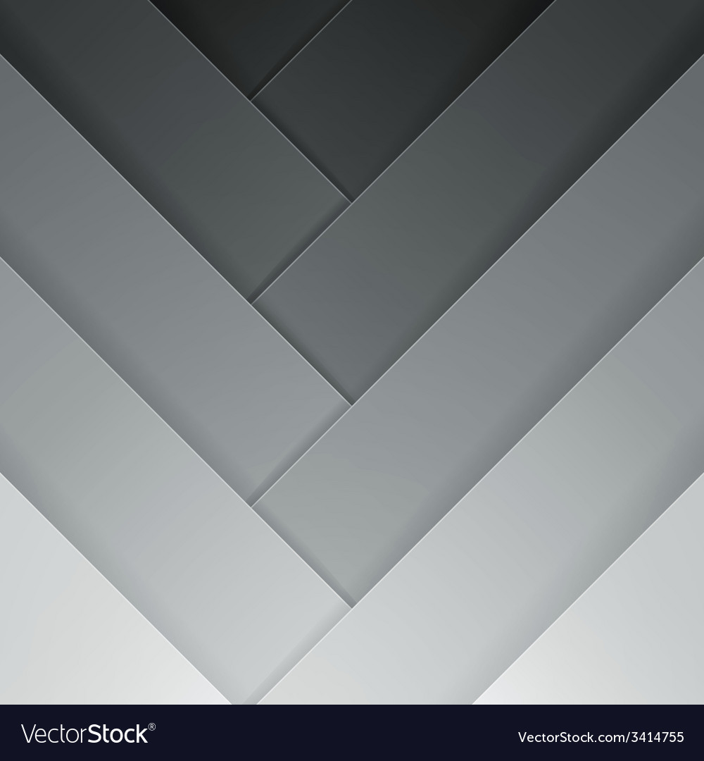 Abstract grey crossing rectangle shapes background vector | Price: 1 Credit (USD $1)