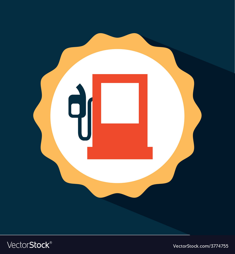 Gasoline icon vector | Price: 1 Credit (USD $1)