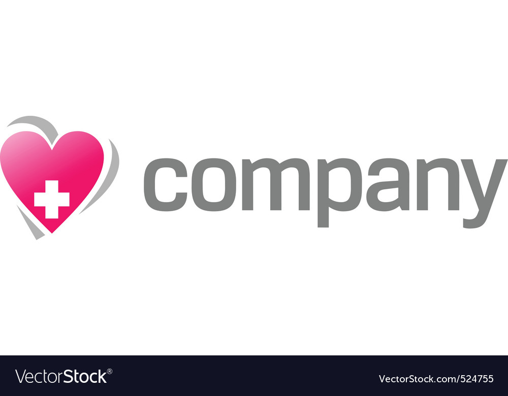 Heart treatment logo vector | Price: 1 Credit (USD $1)