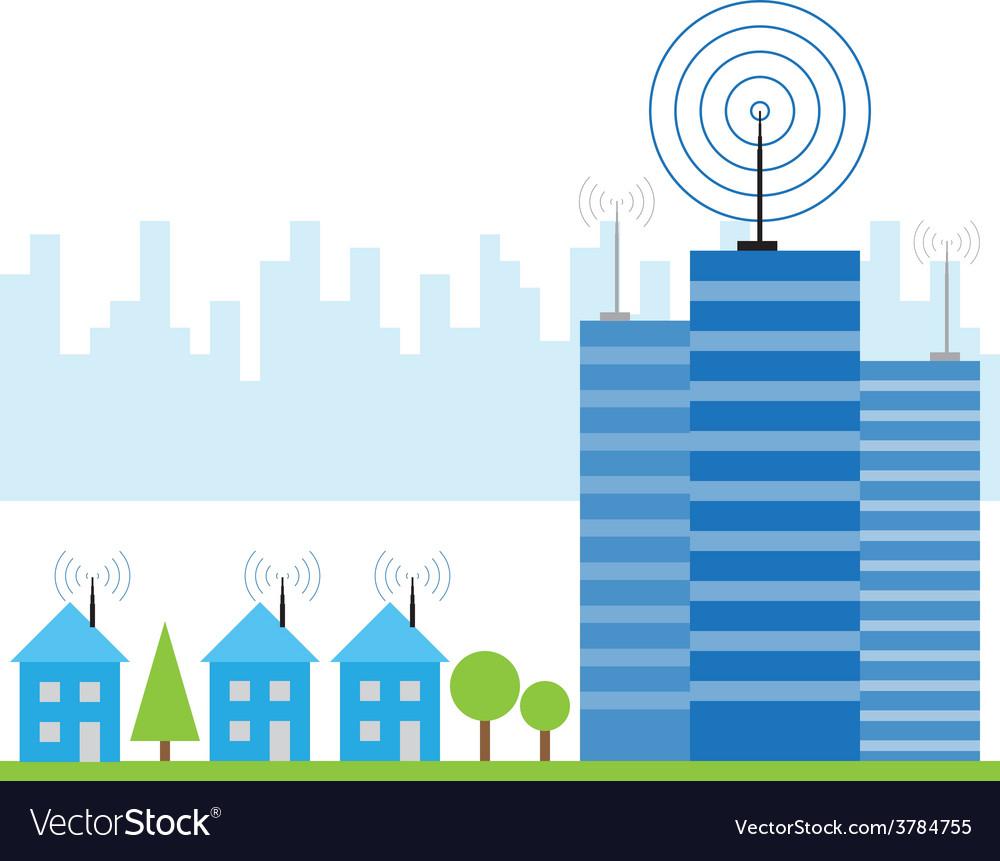 Wireless signal of internet vector   Price: 1 Credit (USD $1)