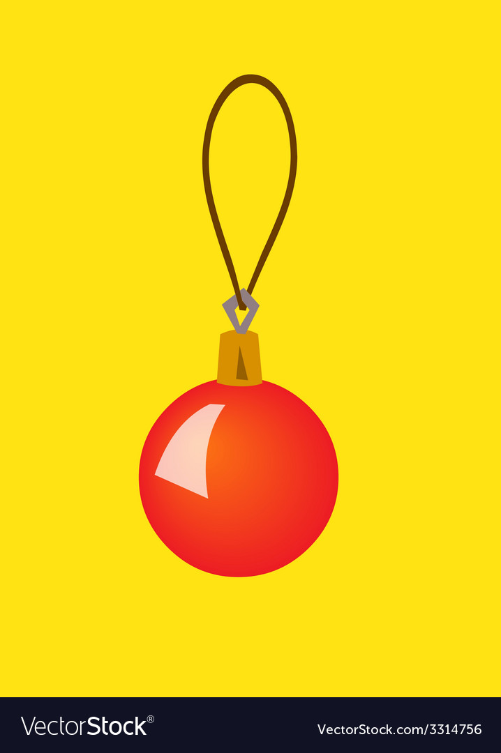 Christmas toy color vector   Price: 1 Credit (USD $1)