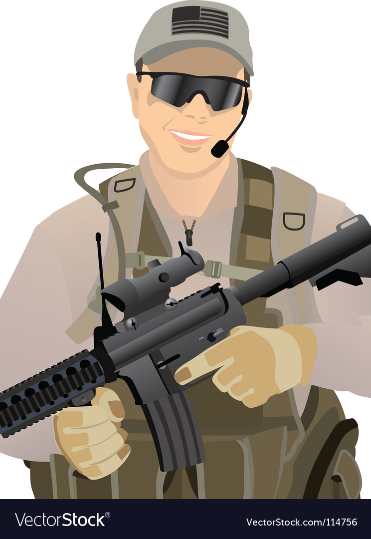 Usa private military vector | Price: 1 Credit (USD $1)