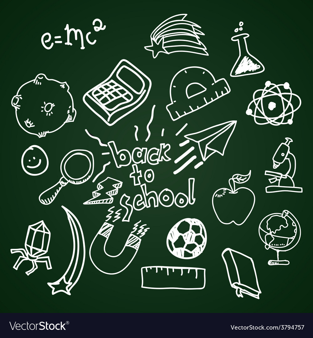 Back to school design vector | Price: 1 Credit (USD $1)
