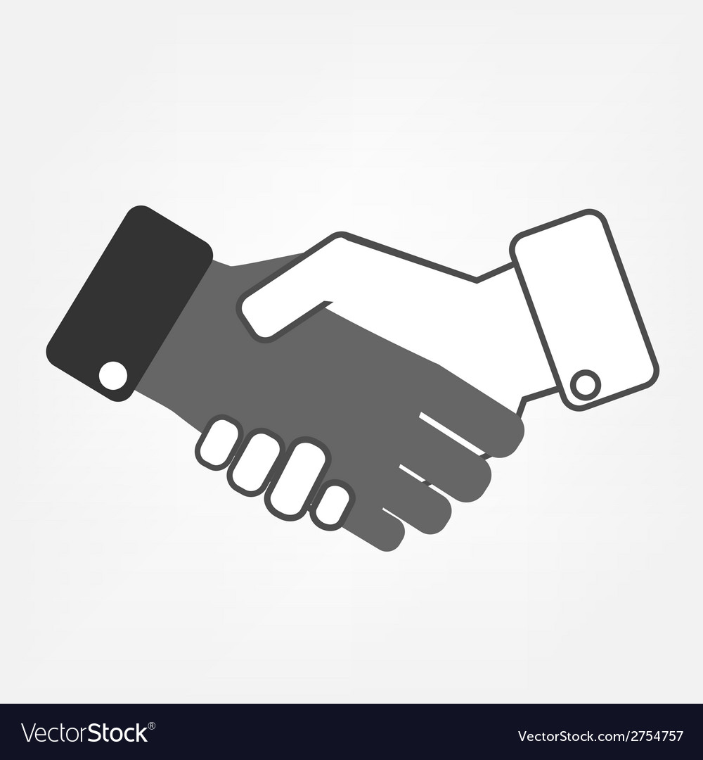 Hand shaking vector | Price: 1 Credit (USD $1)