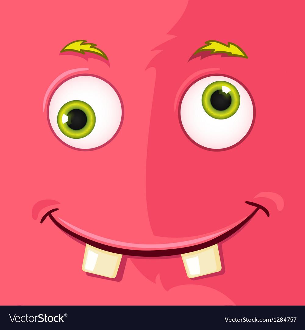 Monster avatar vector | Price: 1 Credit (USD $1)