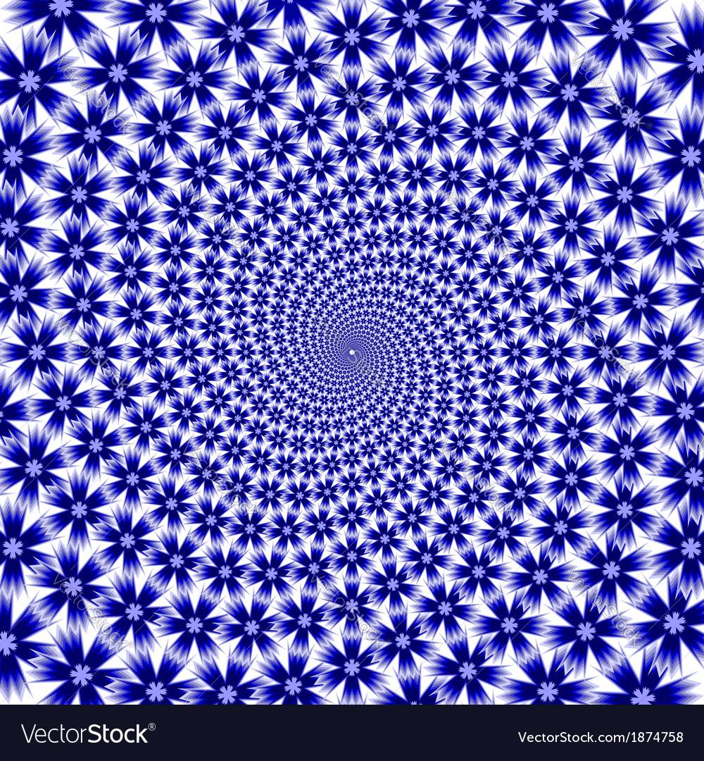 Design cornflower whirl movement background vector   Price: 1 Credit (USD $1)