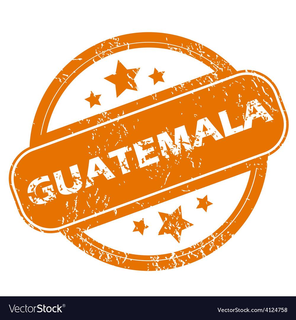 Guatemala grunge icon vector   Price: 1 Credit (USD $1)