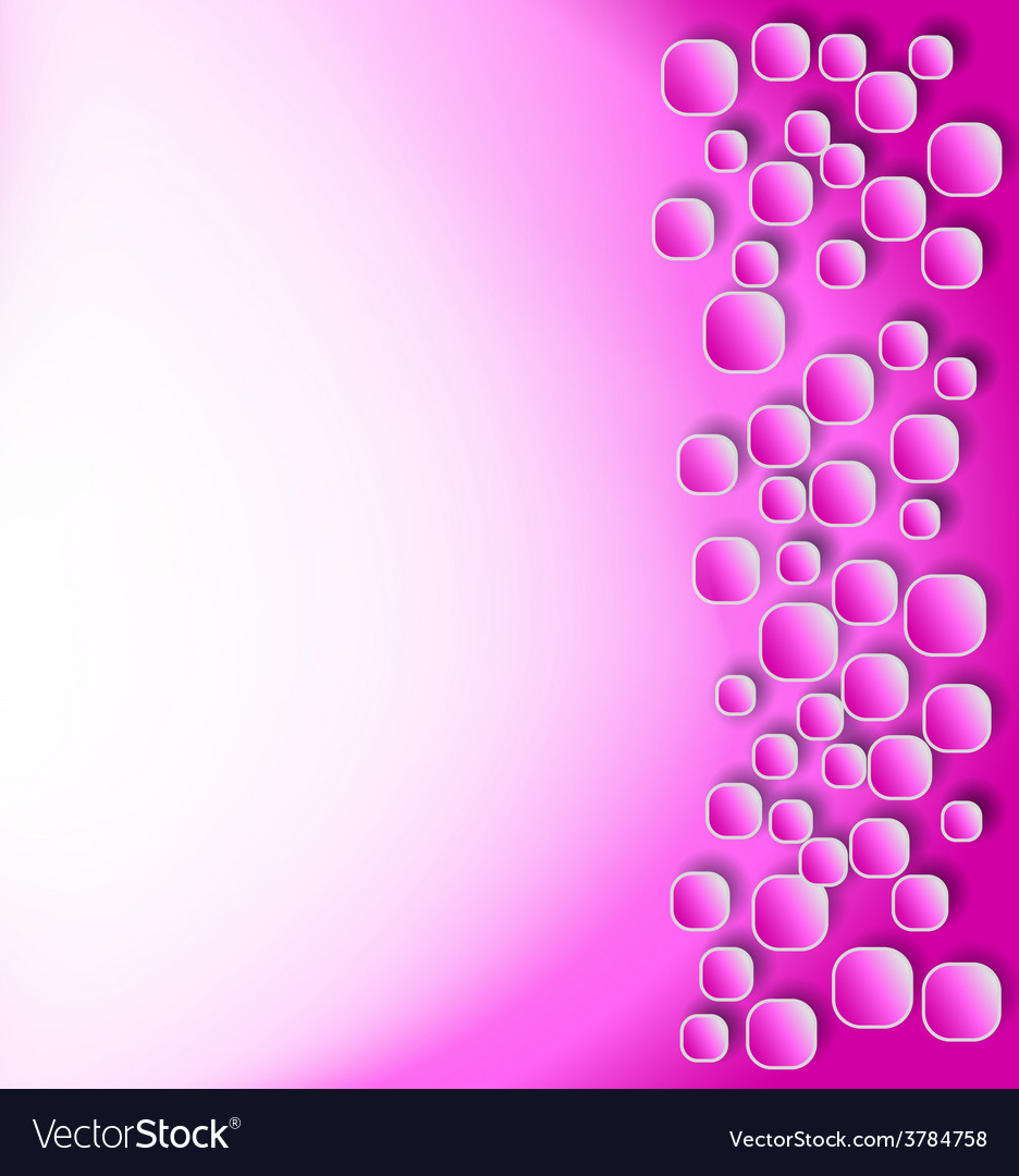 Rounded squares shadows pink vector | Price: 1 Credit (USD $1)