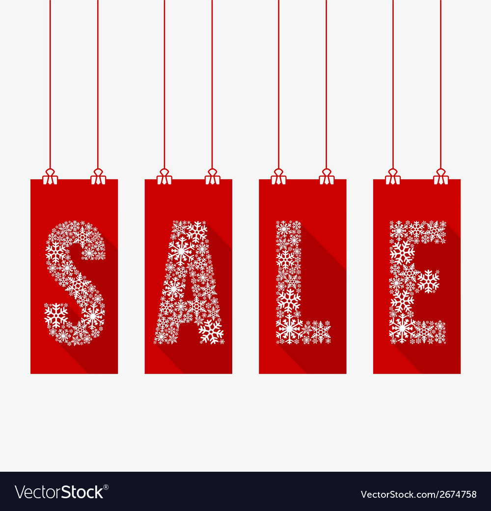 Winter sale vector | Price: 1 Credit (USD $1)