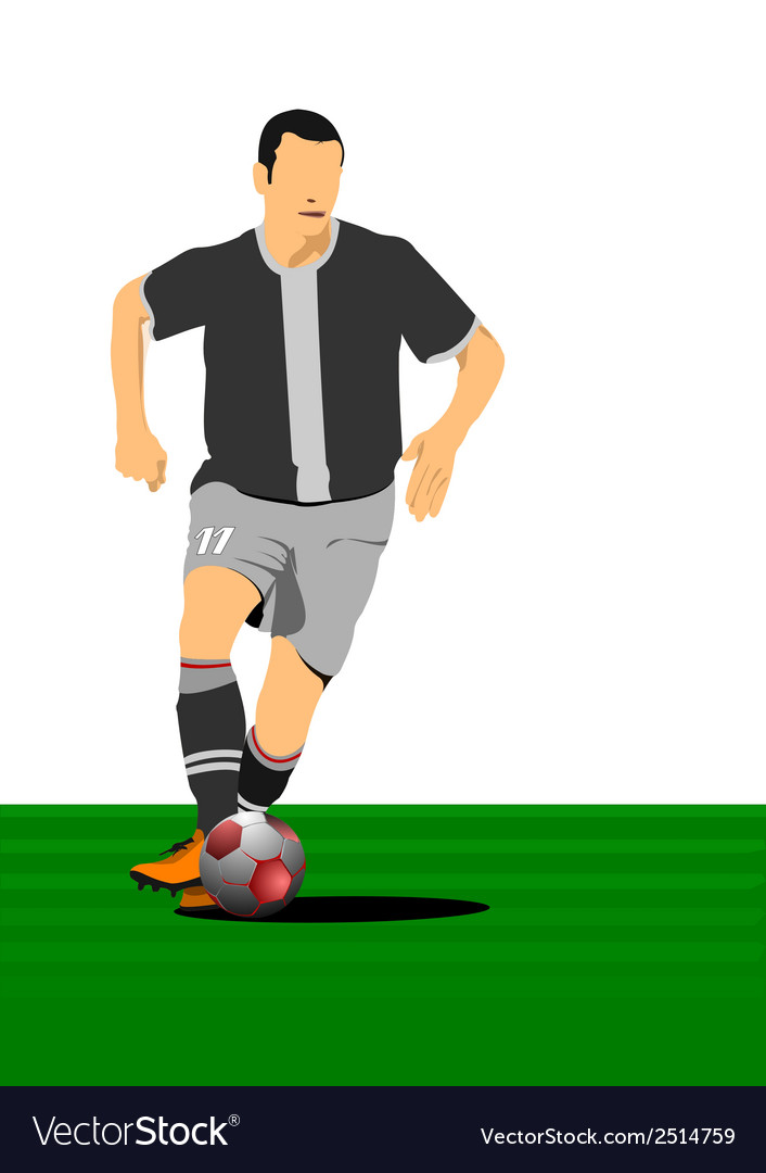 Al 0214 football 04 vector | Price: 1 Credit (USD $1)