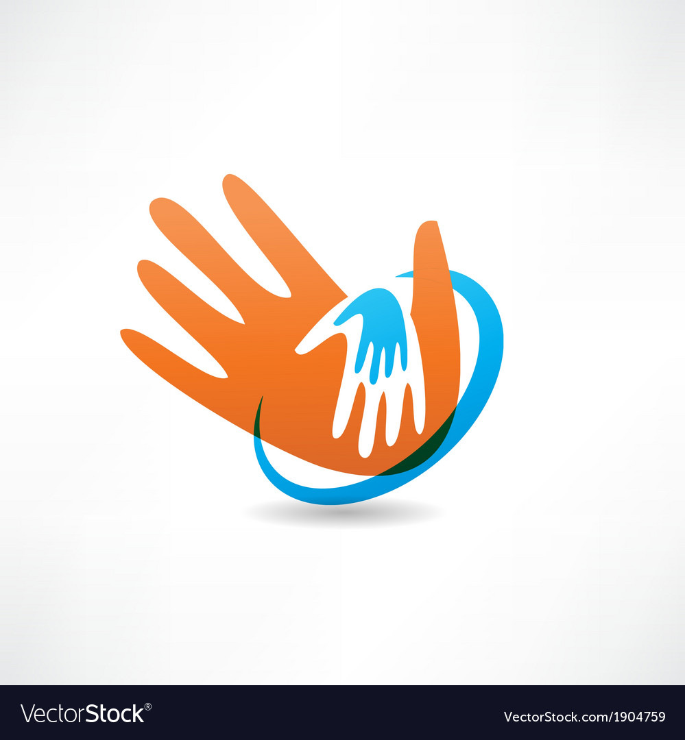 Handshake and friendship icon vector | Price: 1 Credit (USD $1)