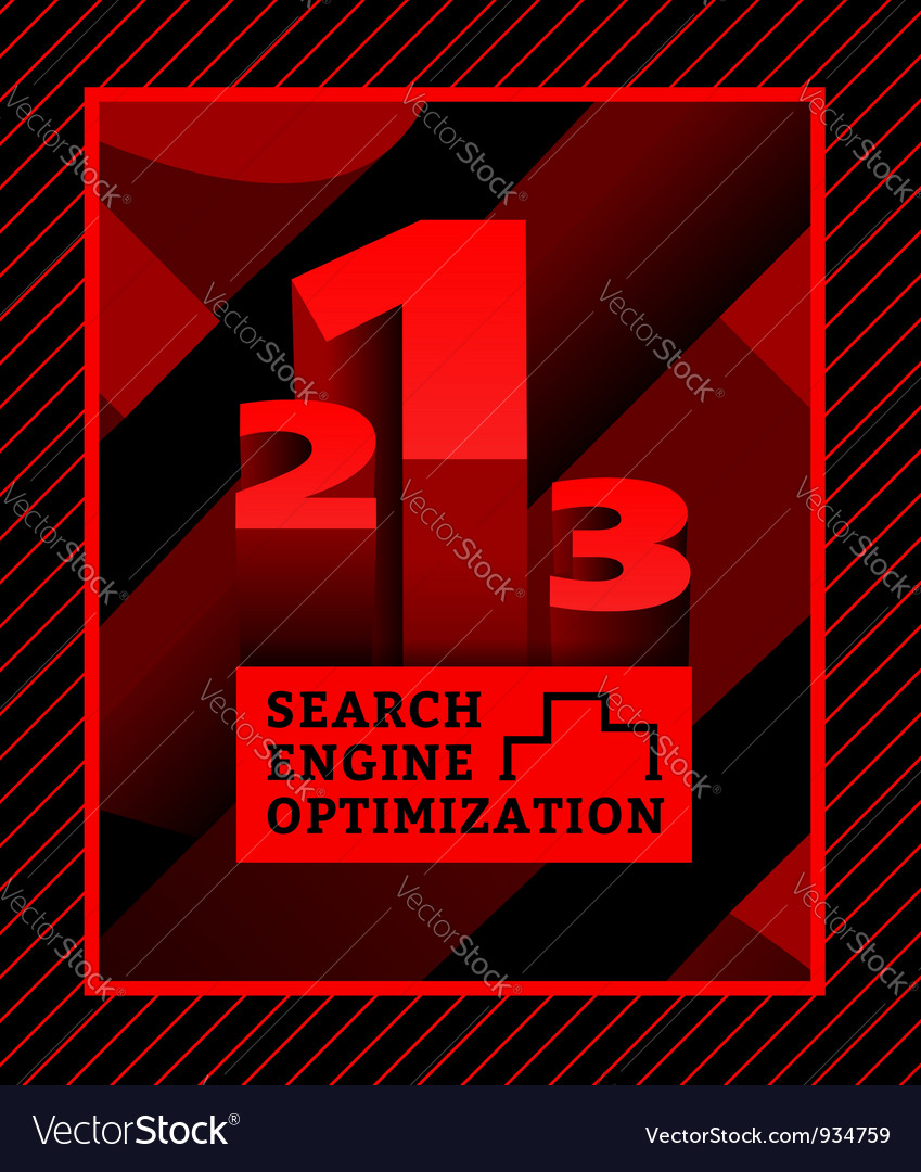 Search engine optimization vector | Price: 1 Credit (USD $1)