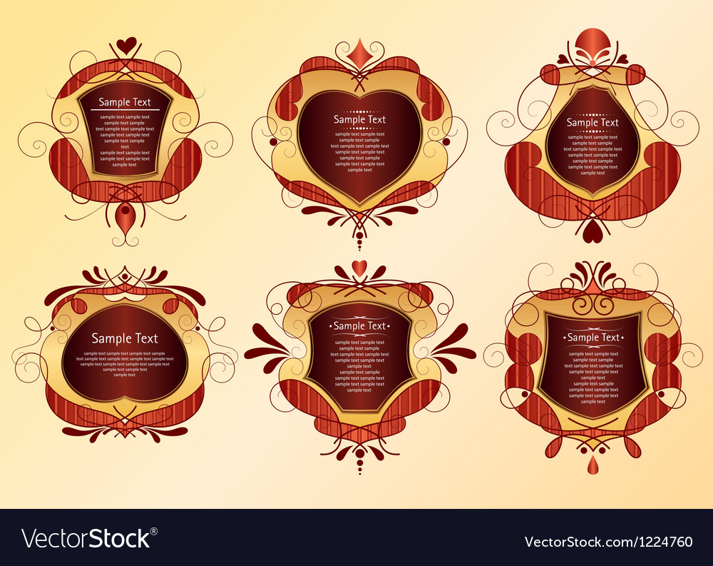Set of frame vector   Price: 1 Credit (USD $1)