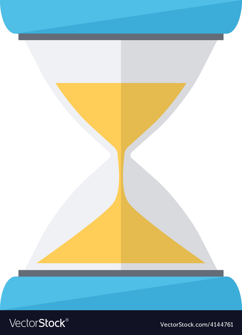 Sand clock time wait symbol vector | Price: 1 Credit (USD $1)