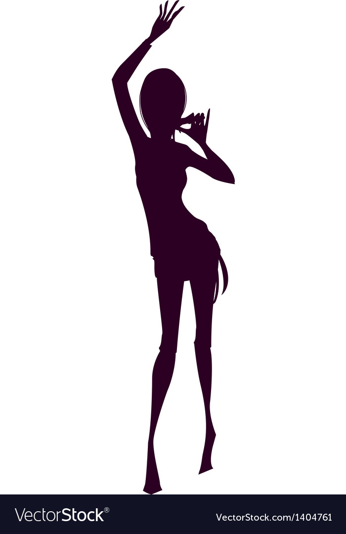 Shadow of woman vector | Price: 1 Credit (USD $1)