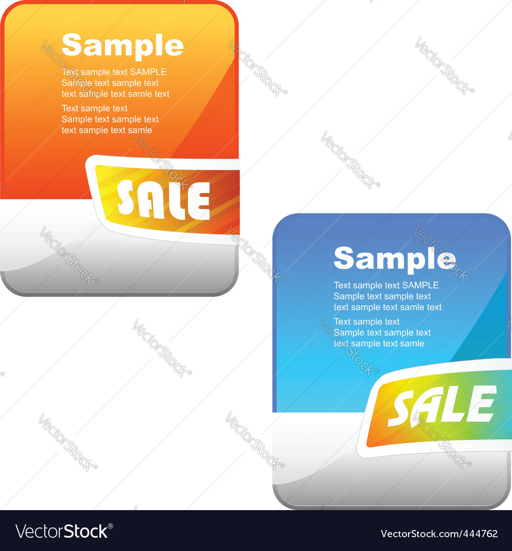 Banner set vector | Price: 1 Credit (USD $1)