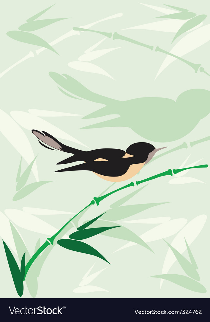 Bird background vector | Price: 1 Credit (USD $1)