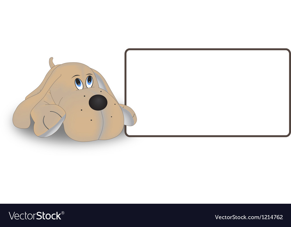 The dog tag on a white background vector | Price: 1 Credit (USD $1)