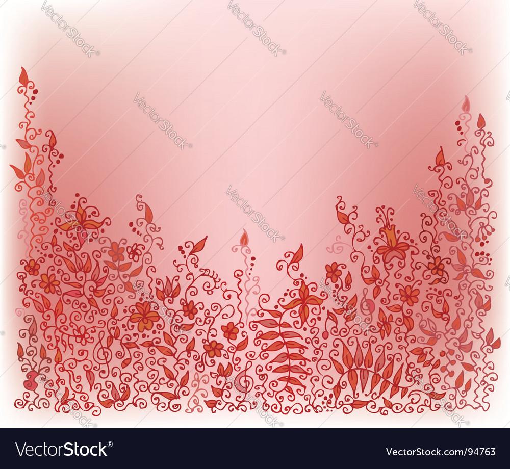 Autumnal vignette vector | Price: 1 Credit (USD $1)
