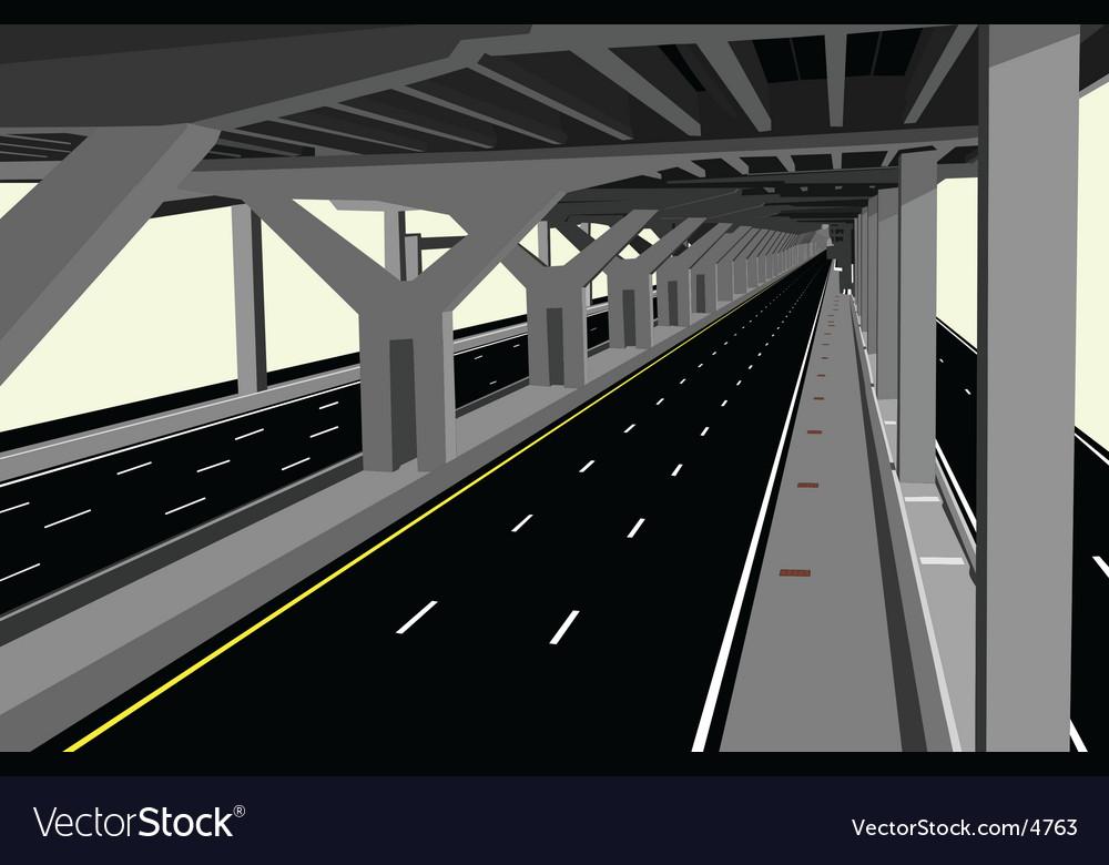 Highway vector | Price: 1 Credit (USD $1)