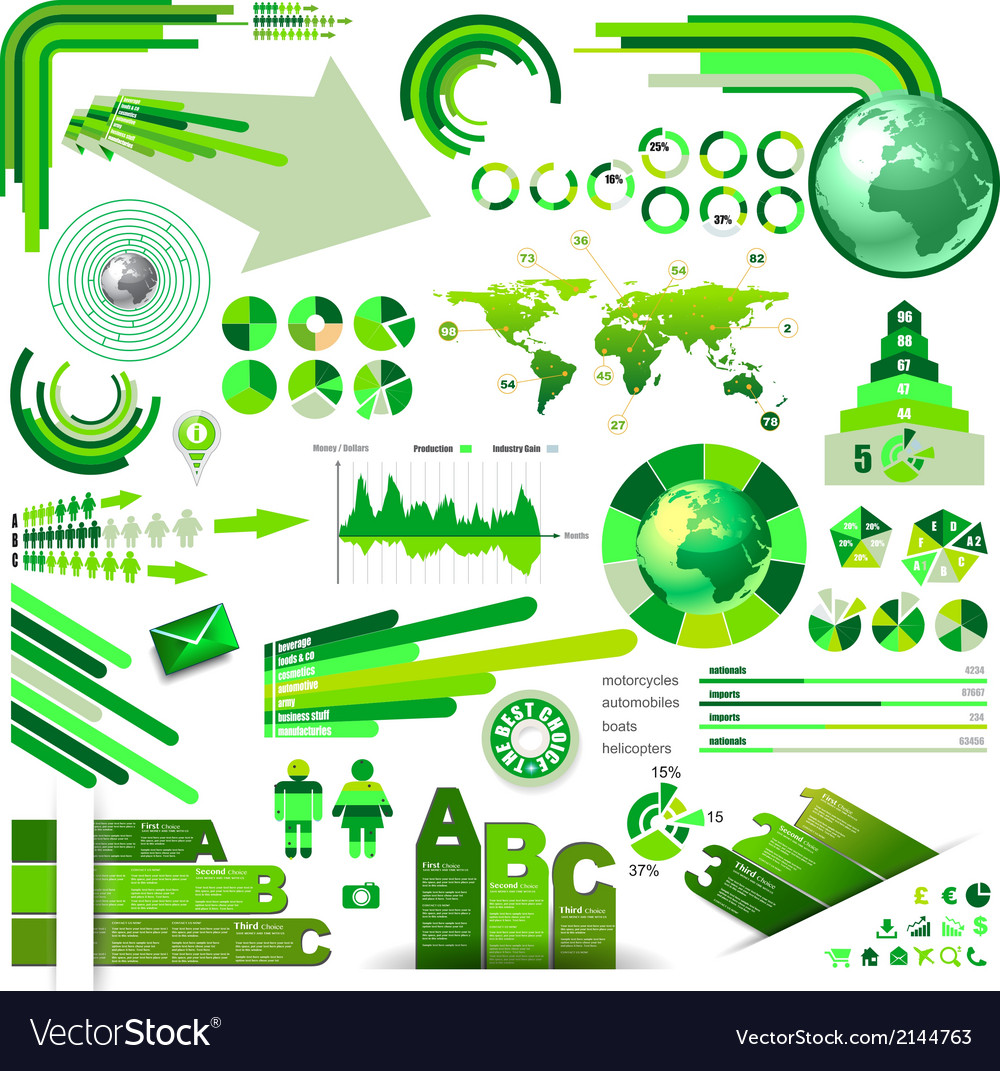 Infographics concept to display your data vector | Price: 3 Credit (USD $3)