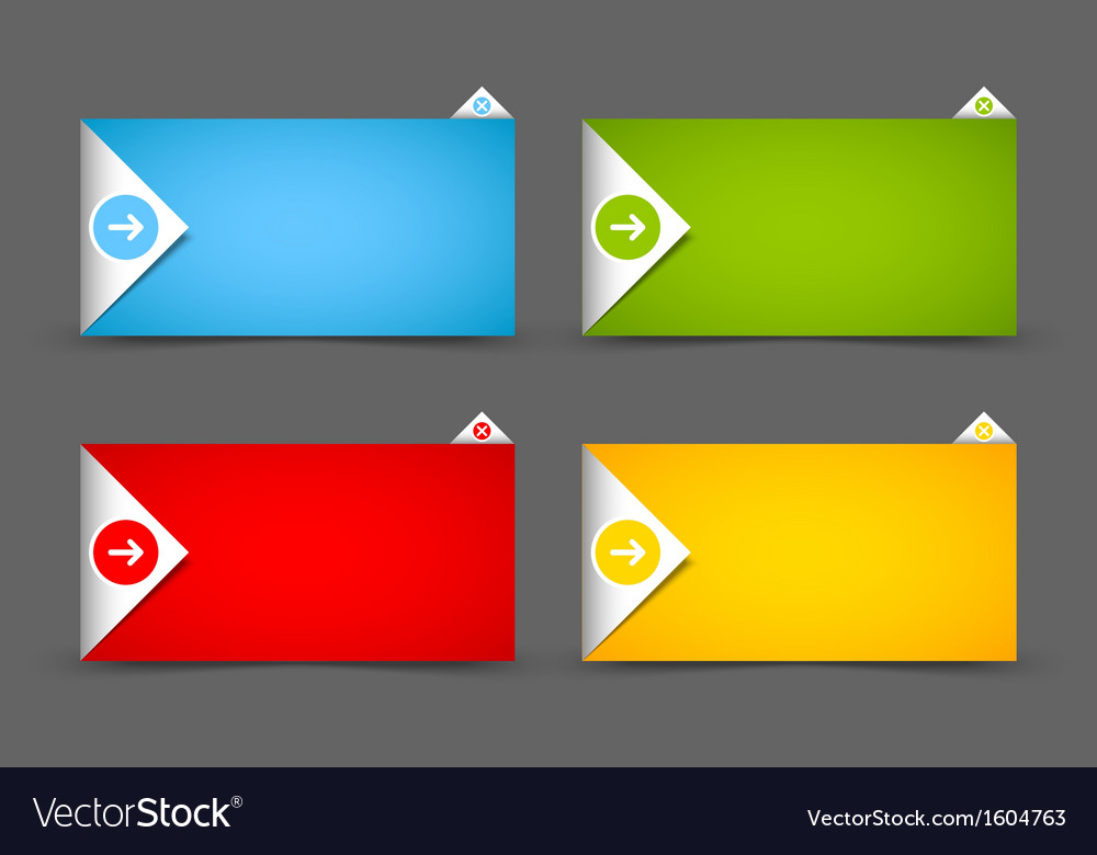 Notification window template vector | Price: 1 Credit (USD $1)