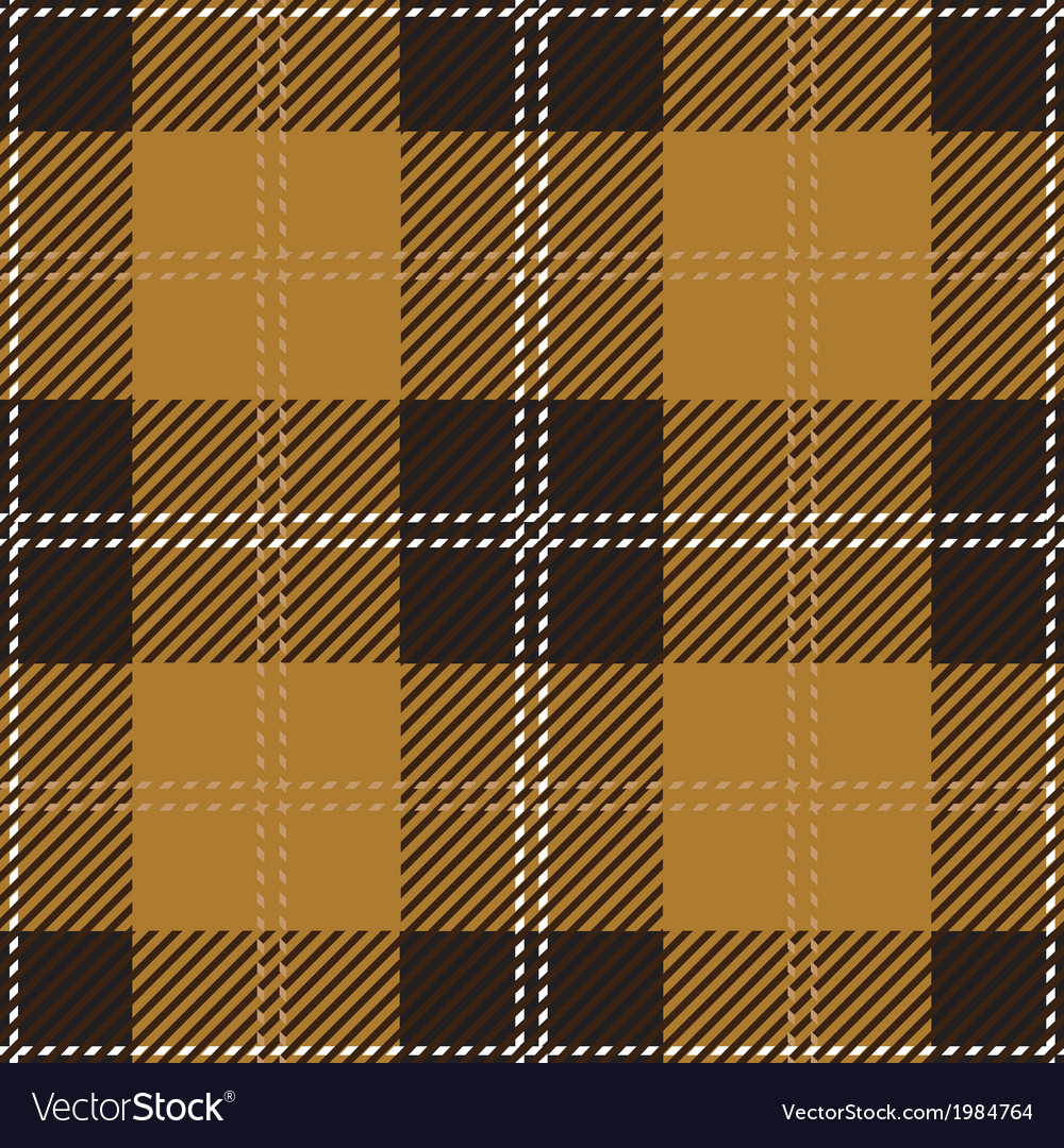 Beige scottish seamless tartan plaid vector | Price: 1 Credit (USD $1)