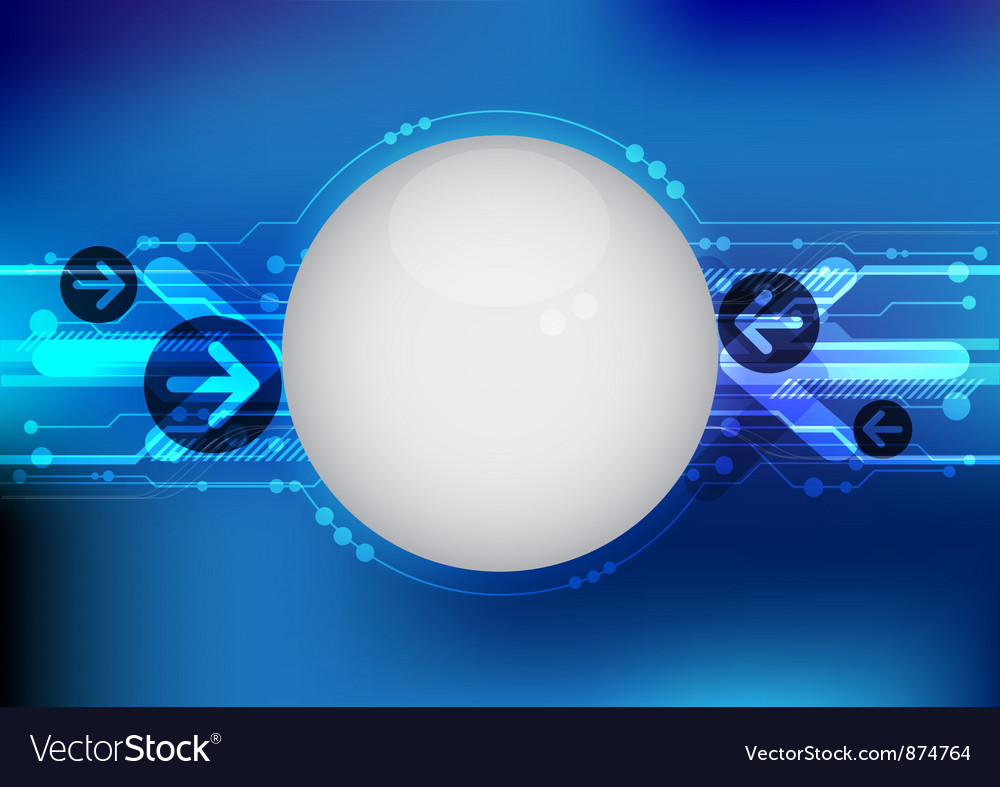 Blue hi tech line background vector | Price: 1 Credit (USD $1)