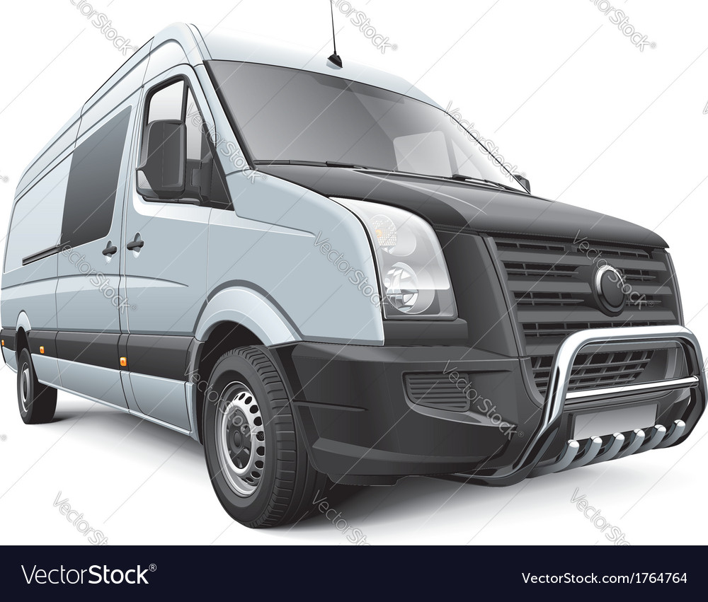 Germany commercial vehicle vector | Price: 3 Credit (USD $3)