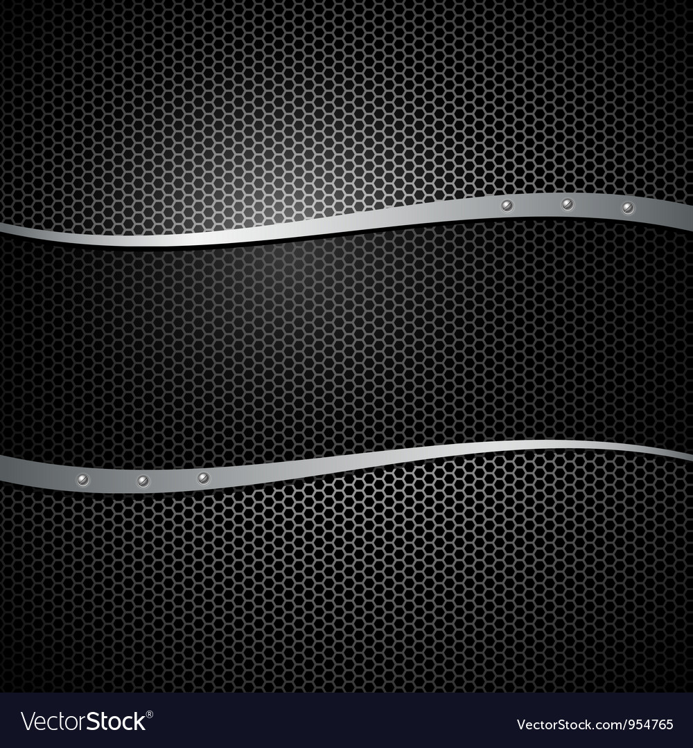 Abstract metal black design background vector | Price: 1 Credit (USD $1)