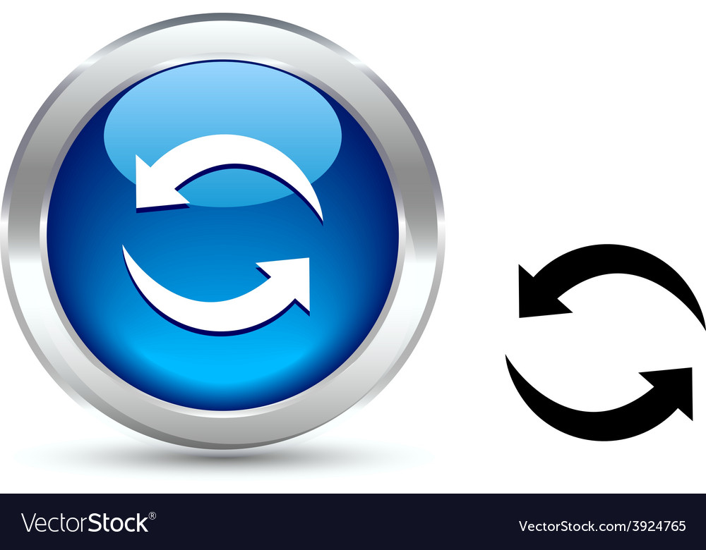 Refresh button vector   Price: 1 Credit (USD $1)