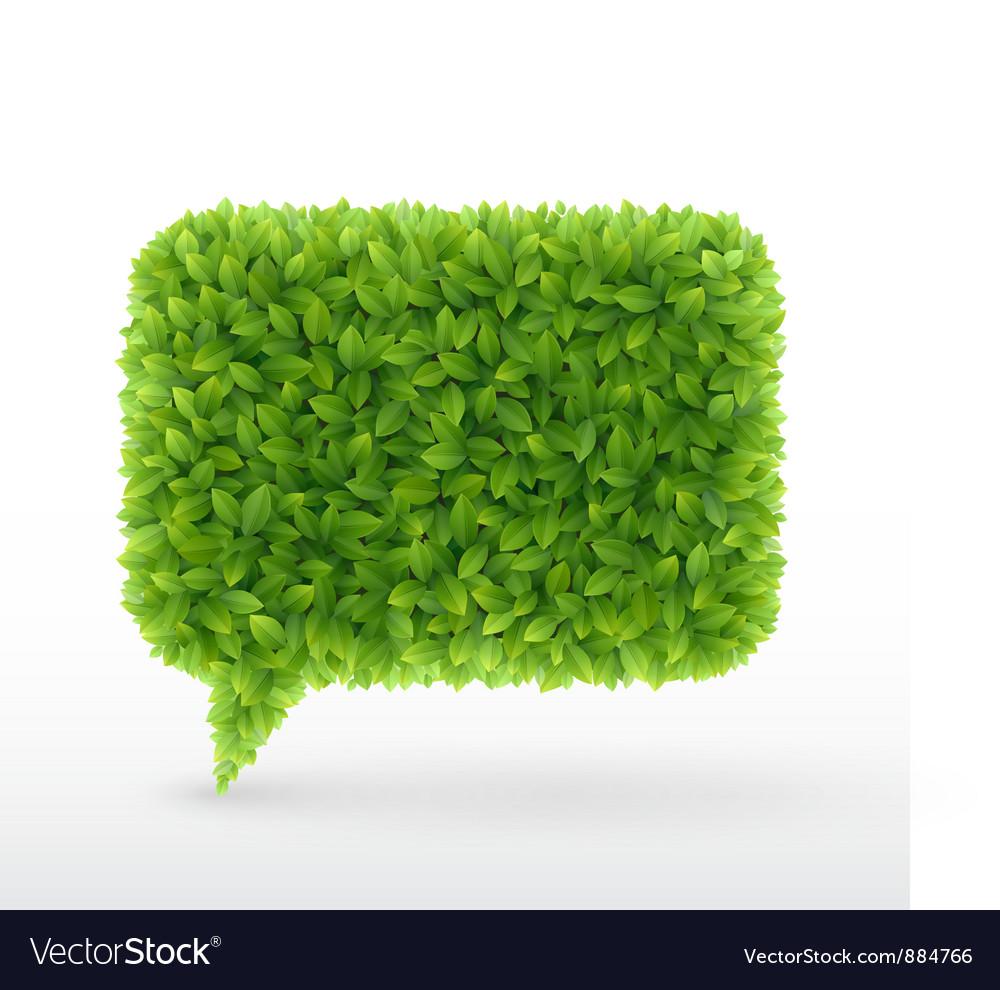 Foliage bubble vector | Price: 1 Credit (USD $1)