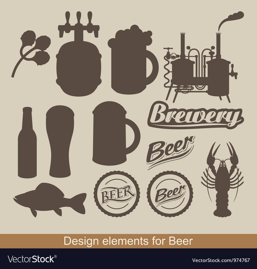 Design of beer vector | Price: 1 Credit (USD $1)