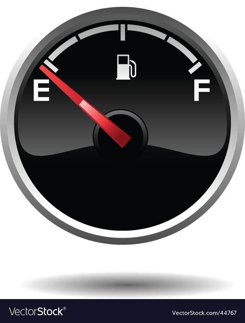 Fuel gauge vector | Price: 1 Credit (USD $1)