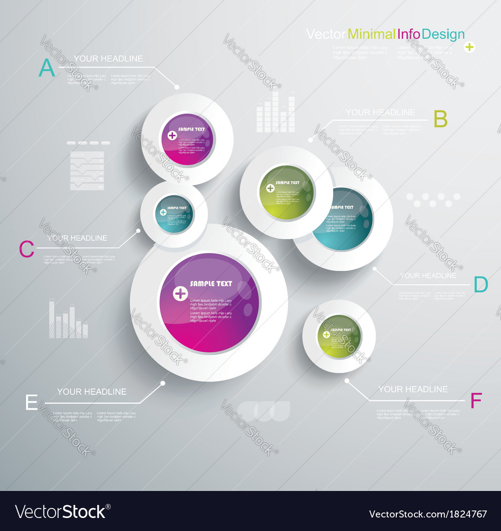 Infographic elements it industry design vector | Price: 1 Credit (USD $1)
