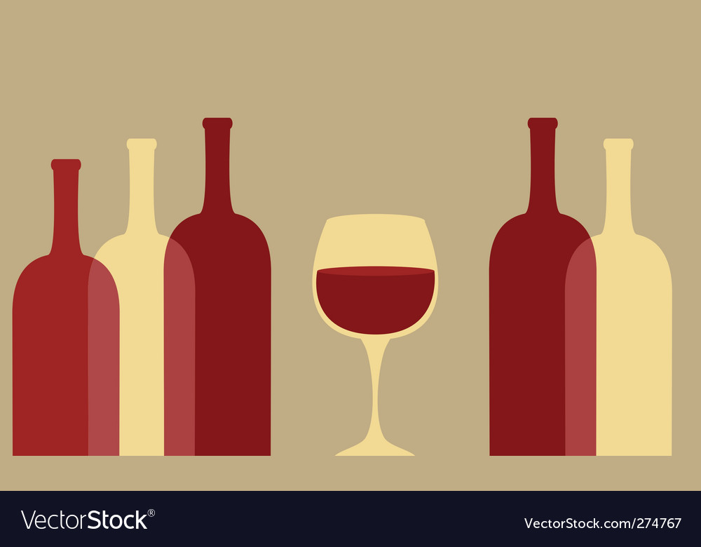 Red wine vector | Price: 1 Credit (USD $1)