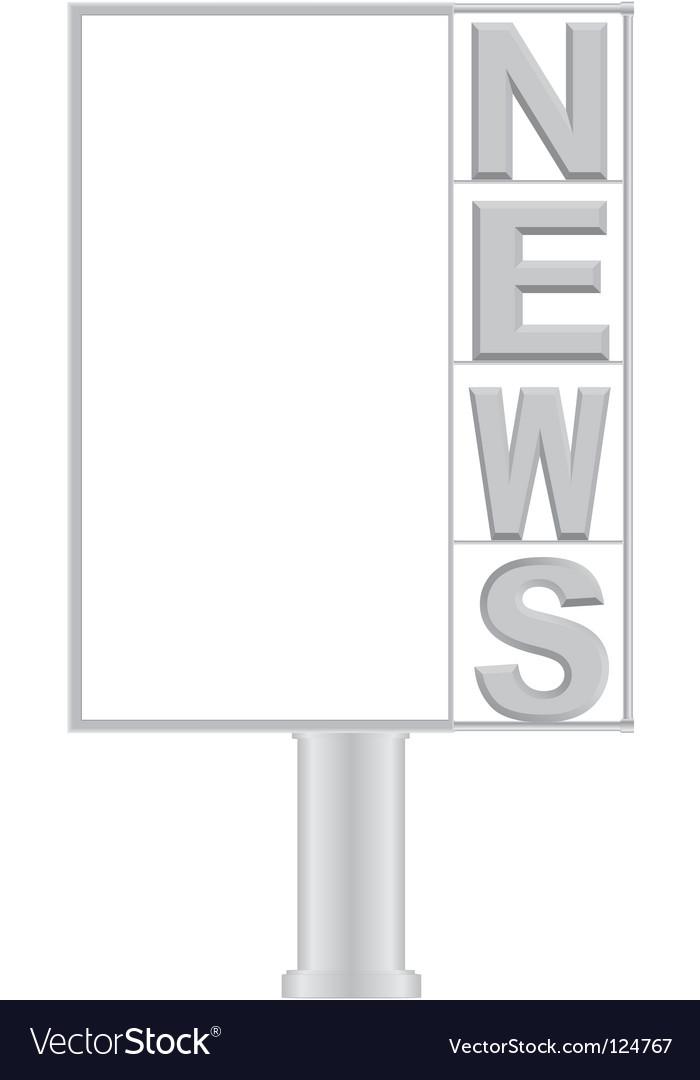 Small billboard news vector   Price: 1 Credit (USD $1)