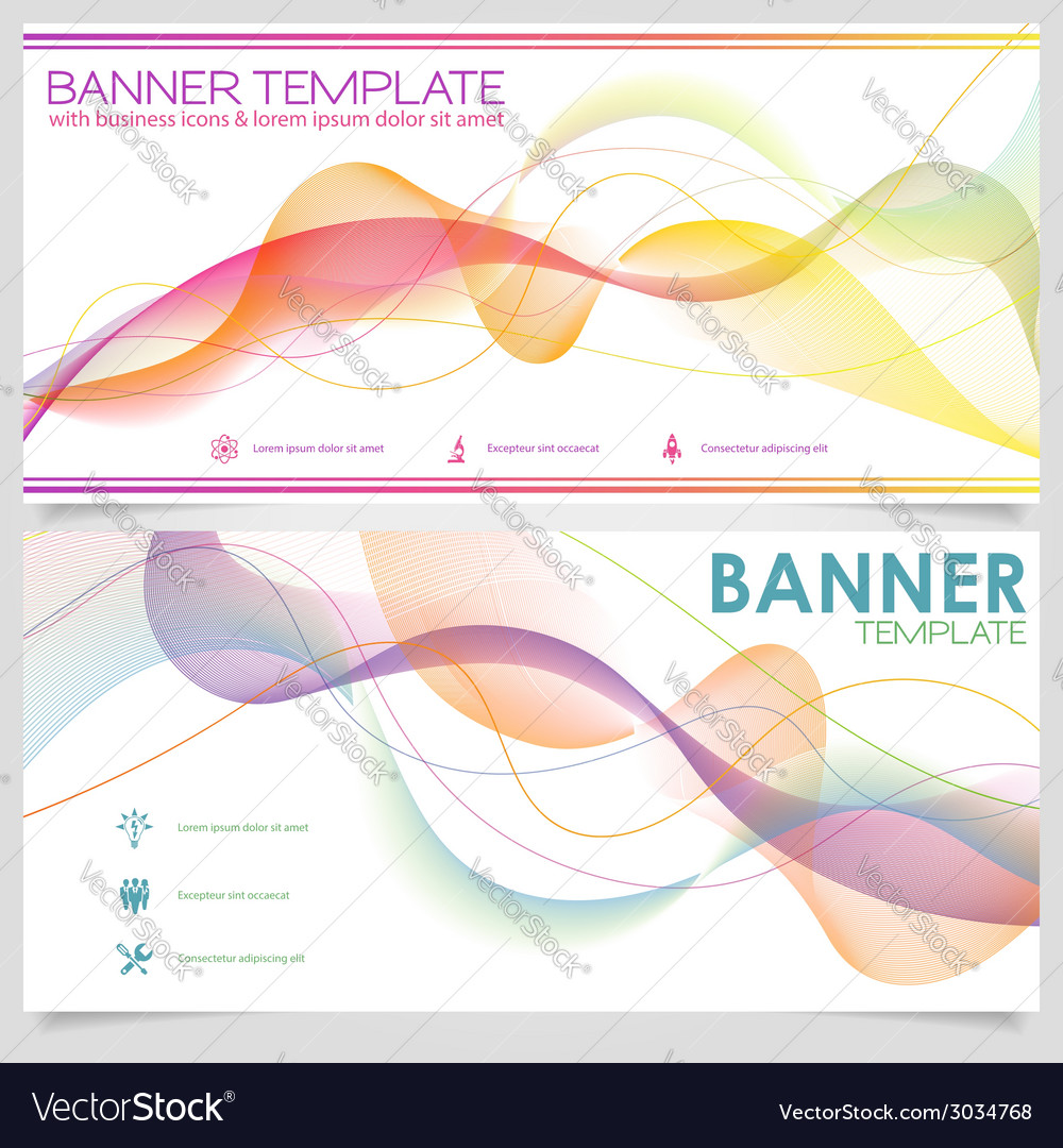 Banner design template vector | Price: 1 Credit (USD $1)