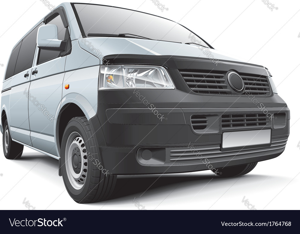 Germany light commercial vehicle vector | Price: 3 Credit (USD $3)