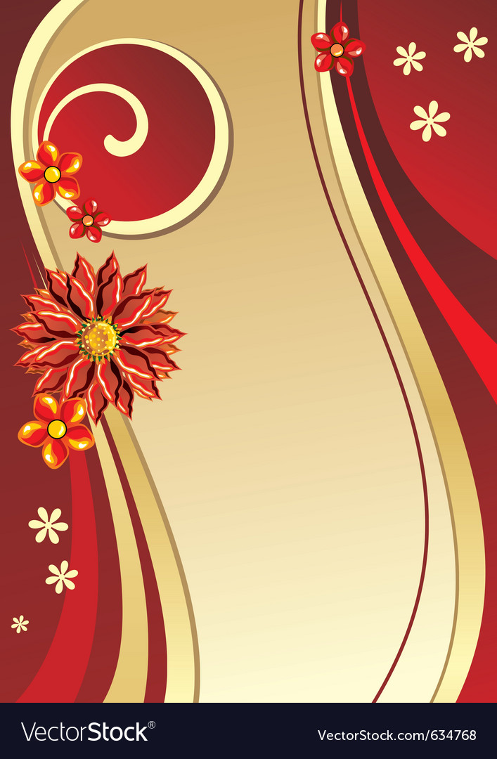 Golden poster vector | Price: 1 Credit (USD $1)