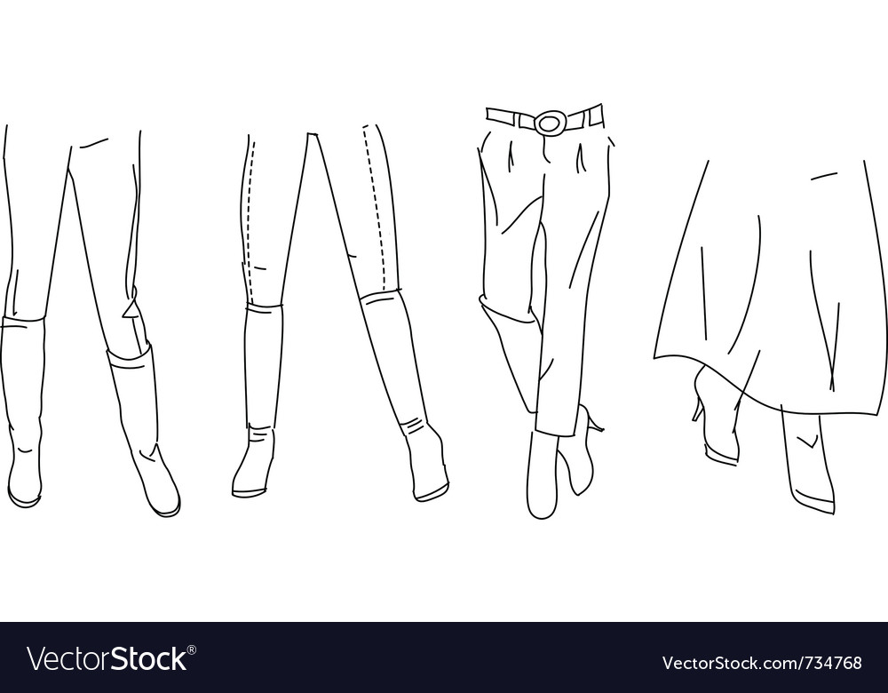Legs vector | Price: 1 Credit (USD $1)