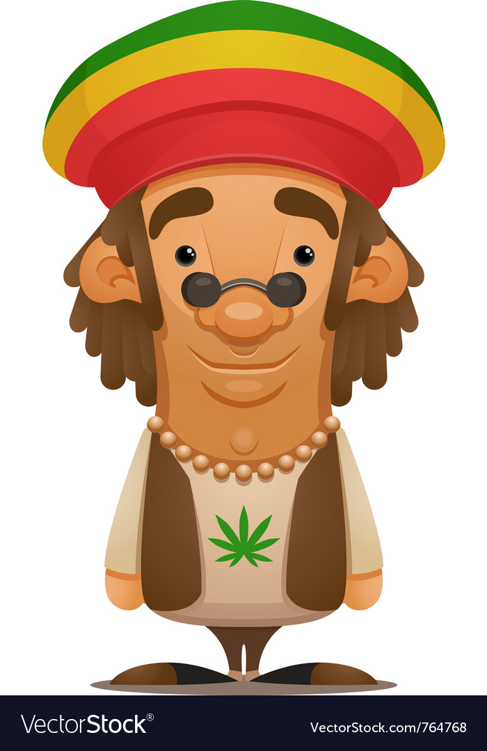 Rastafarian vector | Price: 3 Credit (USD $3)