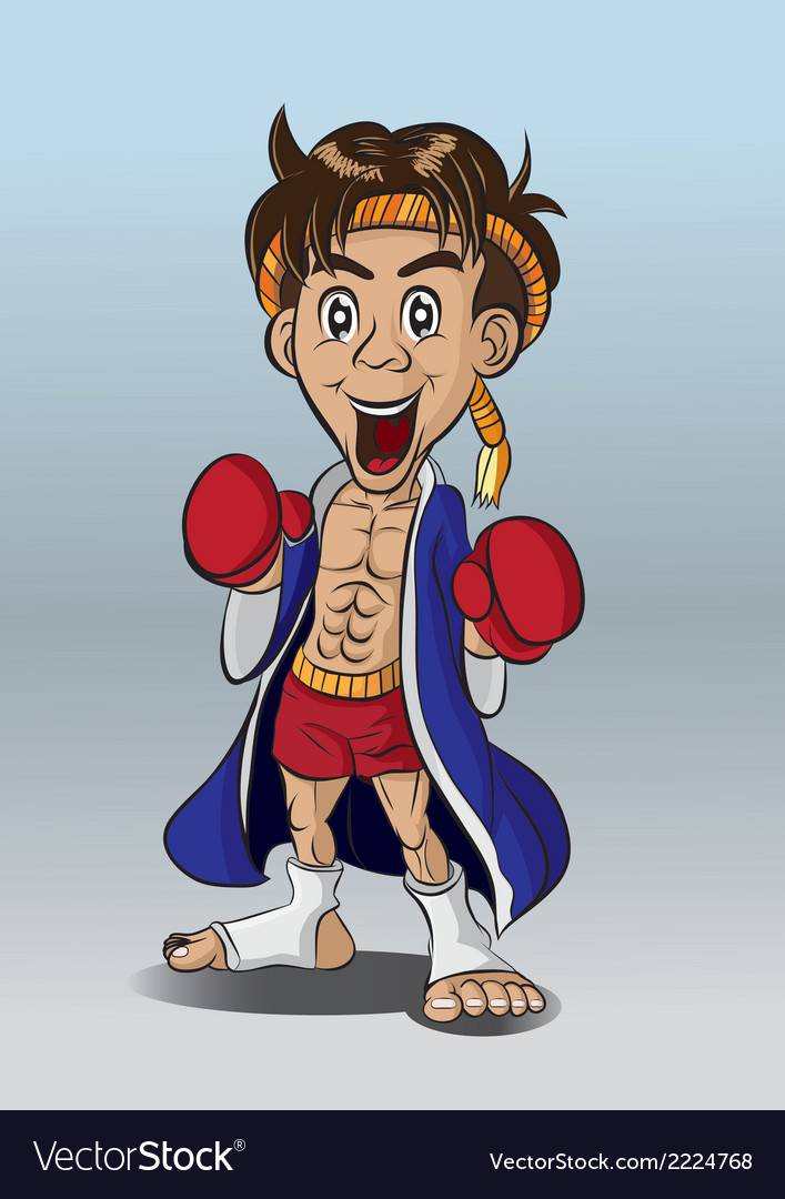 Thaiboxing vector | Price: 1 Credit (USD $1)